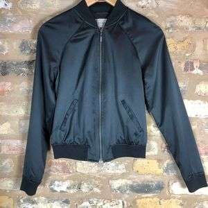 GUESS full zip jacket size XS black. GREAT COND